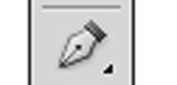 ペンツールのアイコンです。