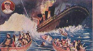 沈没船のイメージ
