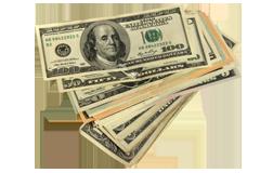 お金のイメージです。