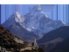 エベレストの画像です。
