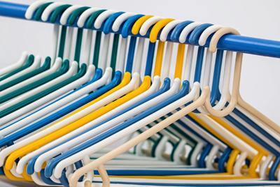 服の整頓をイメージ