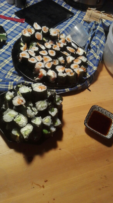 germanmakesushiroll